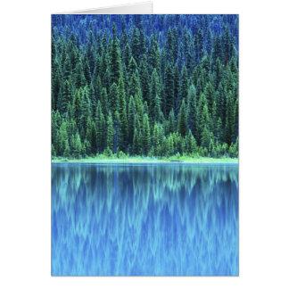 エメラルド湖、Yoho NP、紀元前に、カナダ カード