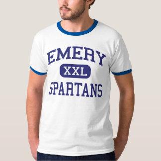 エメリー- Spartans -高Emeryvilleカリフォルニア Tシャツ