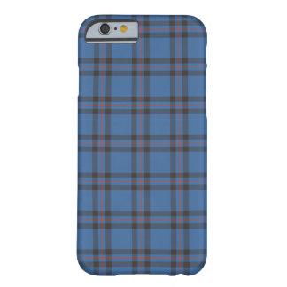 エリオットの一族の青およびブラウンのタータンチェック BARELY THERE iPhone 6 ケース