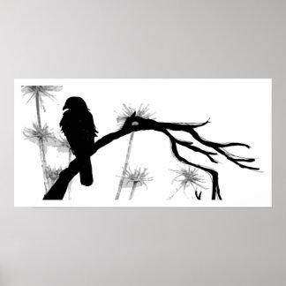 エリオノーラの《鳥》ハヤブサ ポスター