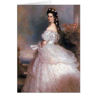 エリザベスのオーストリア1865年の皇后 カード