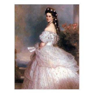 エリザベスのオーストリア1865年の皇后 ポストカード