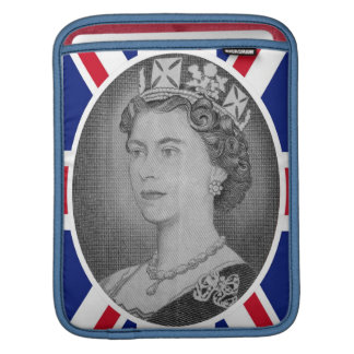 エリザベス女王の記念祭のポートレートのiPadの袖 iPadスリーブ