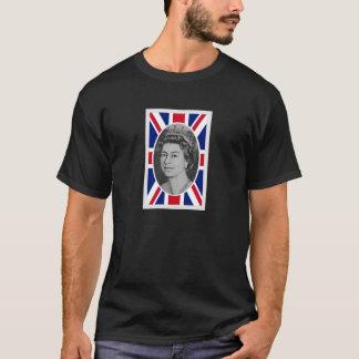 エリザベス女王の記念祭のポートレート Tシャツ