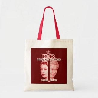 エリザベス女王の60周年記念の記念品のバッグ トートバッグ