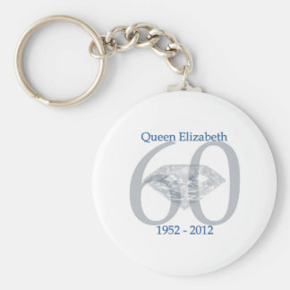 エリザベス女王の60周年記念 キーホルダー