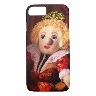 エリザベス女王は人形のiPhone 7の例です iPhone 8/7ケース