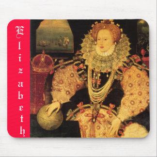 エリザベス女王一世のマウスパッド マウスパッド