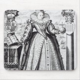 エリザベス女王一世1596年 マウスパッド