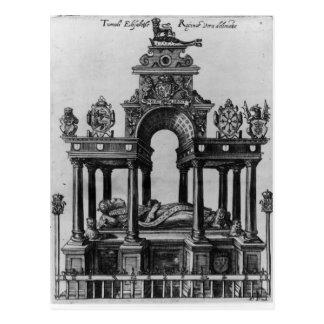 エリザベス女王一世1620年の墓 ポストカード