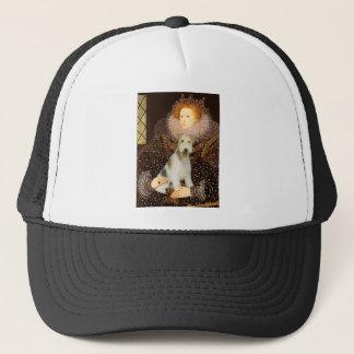 エリザベス女王一世-ワイヤーフォックステリア犬#1 キャップ
