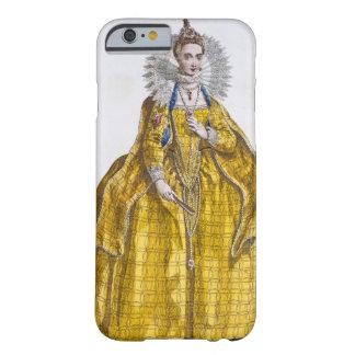 エリザベス女王一世(1530-1603年) (着色された版木、銅版、版画) BARELY THERE iPhone 6 ケース