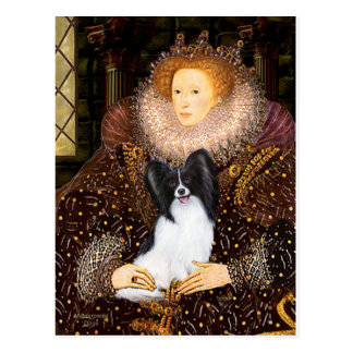 エリザベス女王一世- Papillon 1 ポストカード