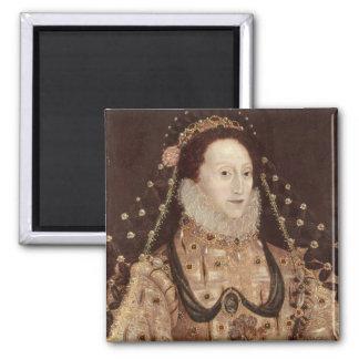 エリザベス女王一世c.1575-80のポートレート マグネット