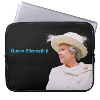 エリザベス女王二世のイメージのネオプレンラップトップ袖 ラップトップスリーブ