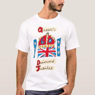 エリザベス女王二世の60周年記念 Tシャツ