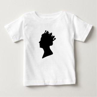 エリザベス女王二世 ベビーTシャツ