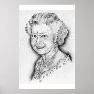 エリザベス女王二世 ポスター