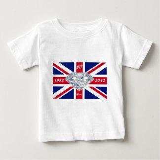 エリザベス女王60年の記念祭 ベビーTシャツ