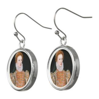 エリザベス女王-低下のイヤリング イヤリング