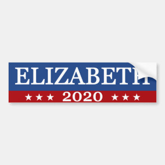 エリザベス2020年 バンパーステッカー