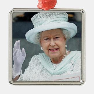 エリザベスIIのイギリスの女王 メタルオーナメント
