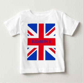 エリザベスII ベビーTシャツ