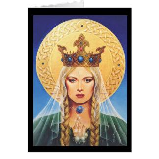 エリザベスKyle.著ケルト語マドンナ カード