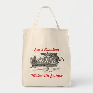 エリックのロングボート トートバッグ