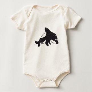エリックシャチの乳児のクリーパー ベビーボディスーツ