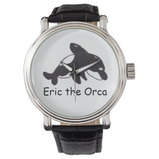 エリックシャチの腕時計 腕時計