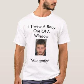 エリックジョンソンのベビーの投げる人 Tシャツ