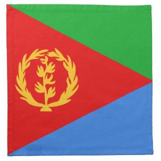エリトリアの旗のナプキン ナプキンクロス