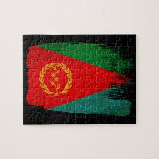 エリトリアの旗 ジグソーパズル