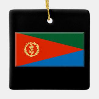エリトリアの旗 セラミックオーナメント