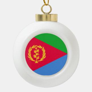 エリトリアの旗 セラミックボールオーナメント