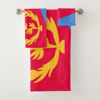 エリトリアの旗 バスタオルセット