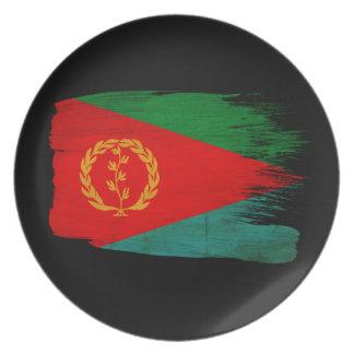 エリトリアの旗 プレート