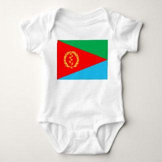 エリトリアの旗 ベビーボディスーツ
