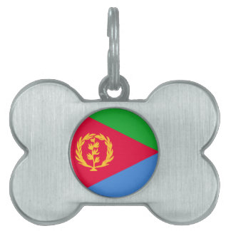 エリトリアの旗 ペットネームタグ