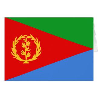 エリトリアの旗Notecard カード