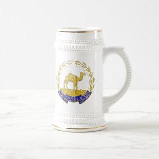 エリトリアの紋章付き外衣 ビールジョッキ