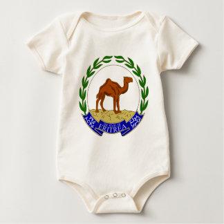 エリトリアの紋章付き外衣 ベビーボディスーツ