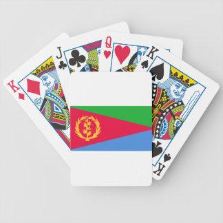 エリトリア- የኤርትራሰንደቅዓላማ -の旗علمإريتريا バイスクルトランプ