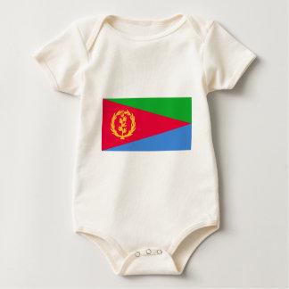 エリトリア- የኤርትራሰንደቅዓላማ -の旗علمإريتريا ベビーボディスーツ