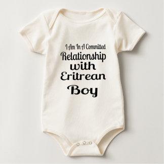 エリトレアの男の子との人間関係 ベビーボディスーツ
