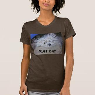 エリマキシギ日犬のTシャツ Tシャツ