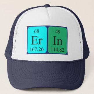 エリンの周期表の名前の帽子 キャップ