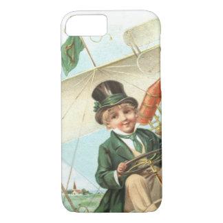 エリンの小妖精の飛行機のハープ iPhone 8/7ケース