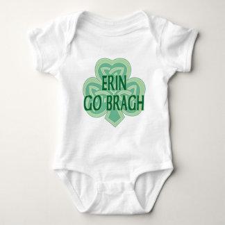 エリンはクリーパーBraghの乳児の行きます ベビーボディスーツ